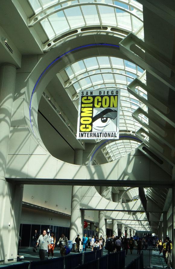 San Diego Comic-Con lobby