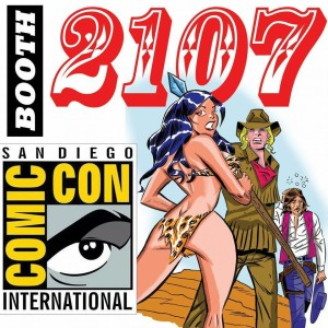 SDCC Survival Guide booth 2107
