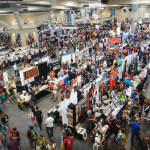Exhibition Hall crowd at SDCC