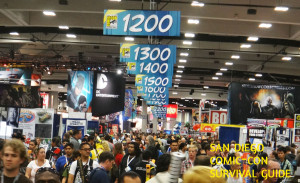 SDCC Survival Guide hall crowd press